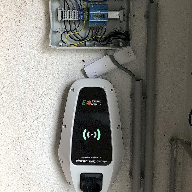 E-Ladestation Nachrüstung Einfamilienhaus Z.